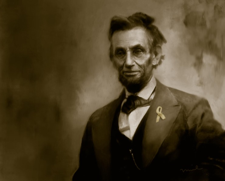 Lincoln with Ribbon Duotone no type