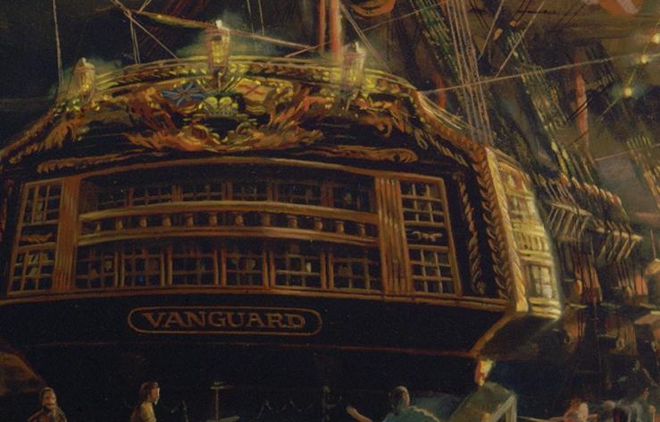 Vanguard 3 Stern Detail