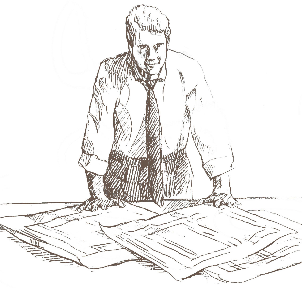 Man with Papers